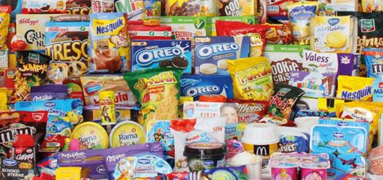 Verpackungen von Produkten für Kinder