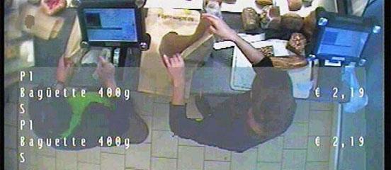 Videoüberwachung in der Bäckerei