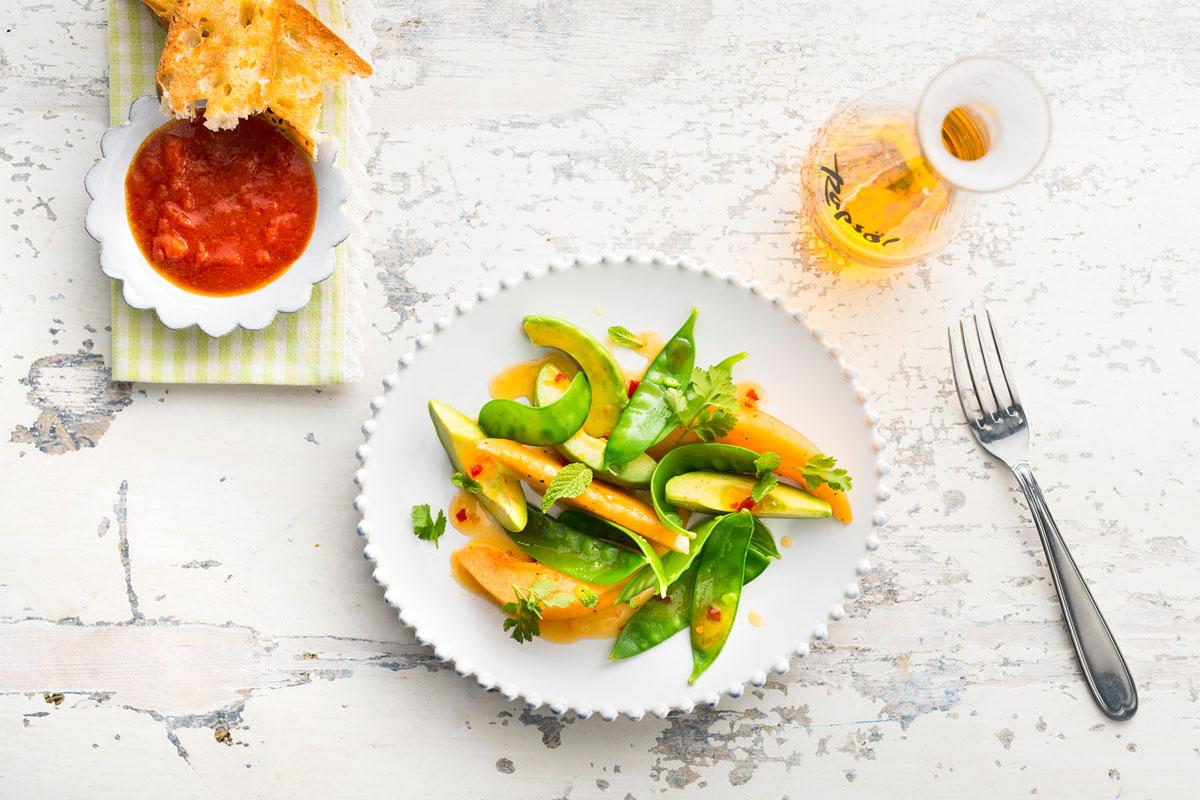 Raffiniert: Sommersalat mit dem gewissen Etwas
