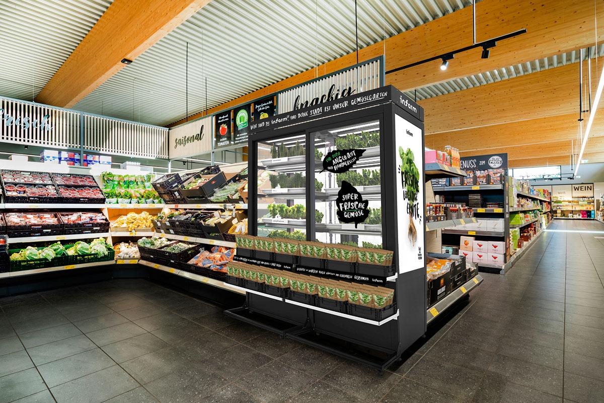 Indoor Farming: Aldi Süd und Infarm arbeiten zusammen