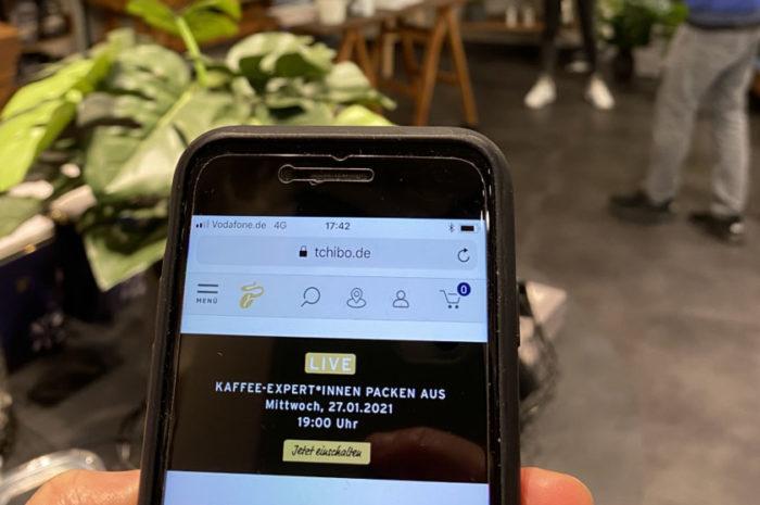 Tchibo: macht das Smartphone zum interaktiven Shopping-Begleiter
