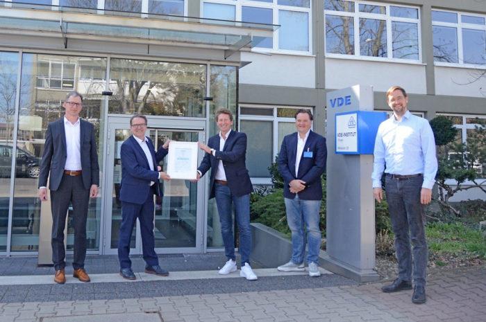 Premiere: Ladenbackofen erhält VDE-Energiesparzertifikat
