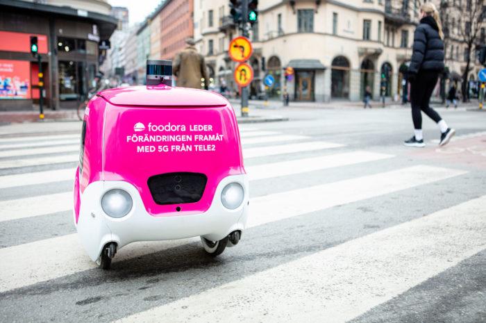 IoT-Beispiel Stockholm: der autonome Droide Doora
