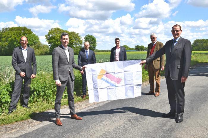 Agravis AG: plant neues Logistikzentrum im Kreis Coesfeld