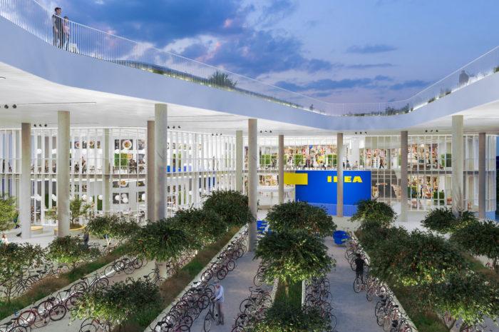 Architektonische Perle: Ikeas neuer City Store in Kopenhagen
