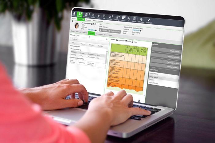 Effizient, platzsparend und sicher: die digitale Personalakte